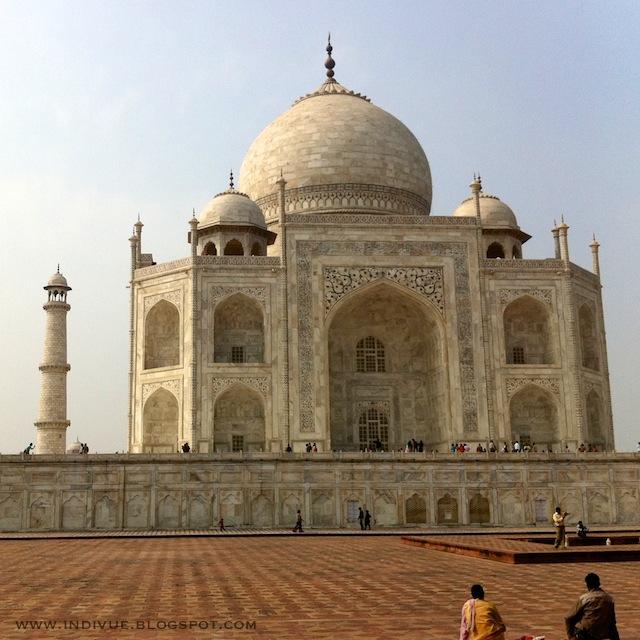 Taj Mahal Intiassa kuvattuna iPhone4-kameralla