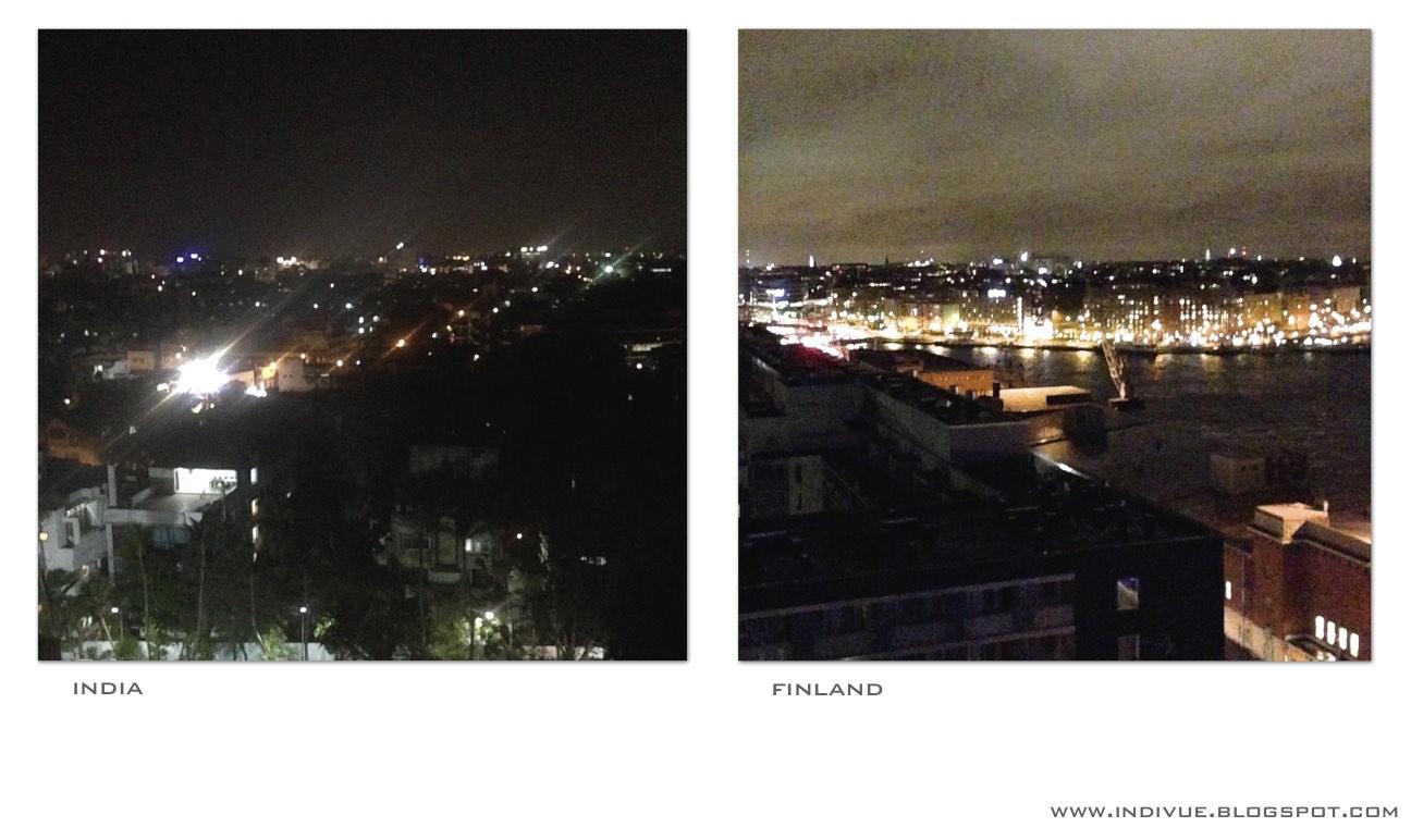 Öitä kaupungeissa