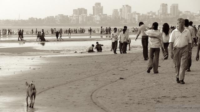 Juhu Beach, Mumbai, Intia