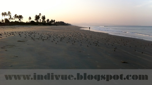 Fatrade Beach, Goa, India