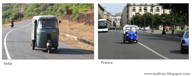 Ranskalainen ja intialainen riksa