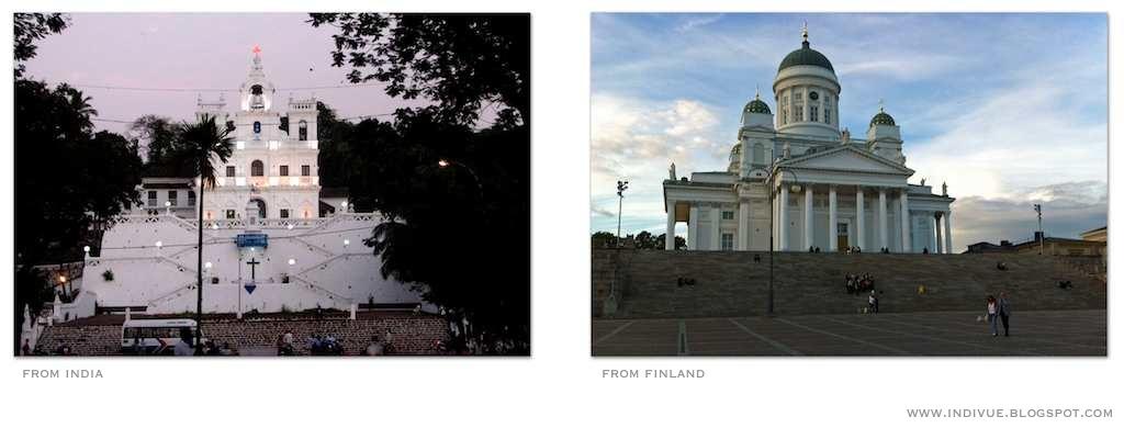 Intialainen ja suomalainen kirkko