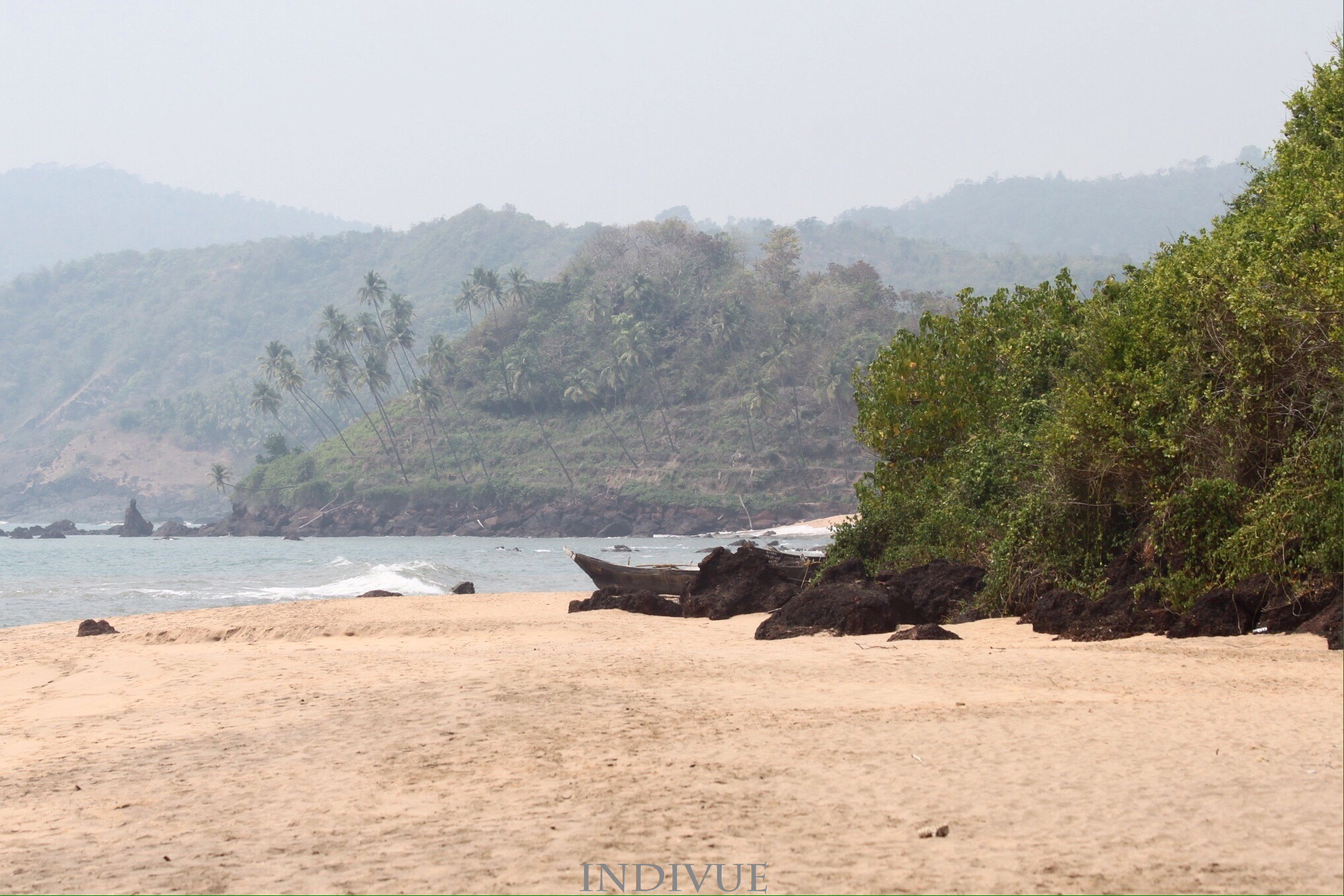 Cola Beach, Goa, Intia