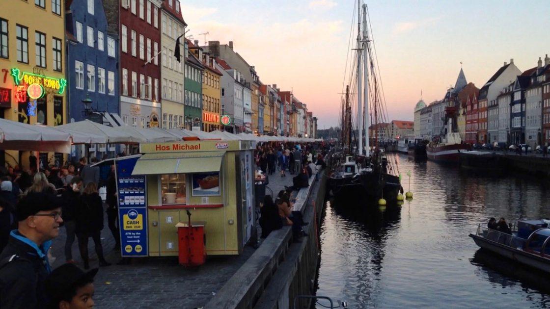 Nyhavh - nähtävyys Kööpenhaminassa