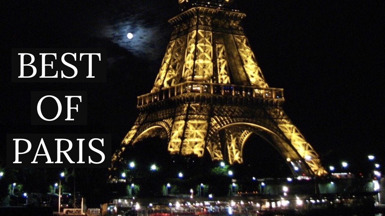 Pariisi ja Eiffeltorni yöaikaan