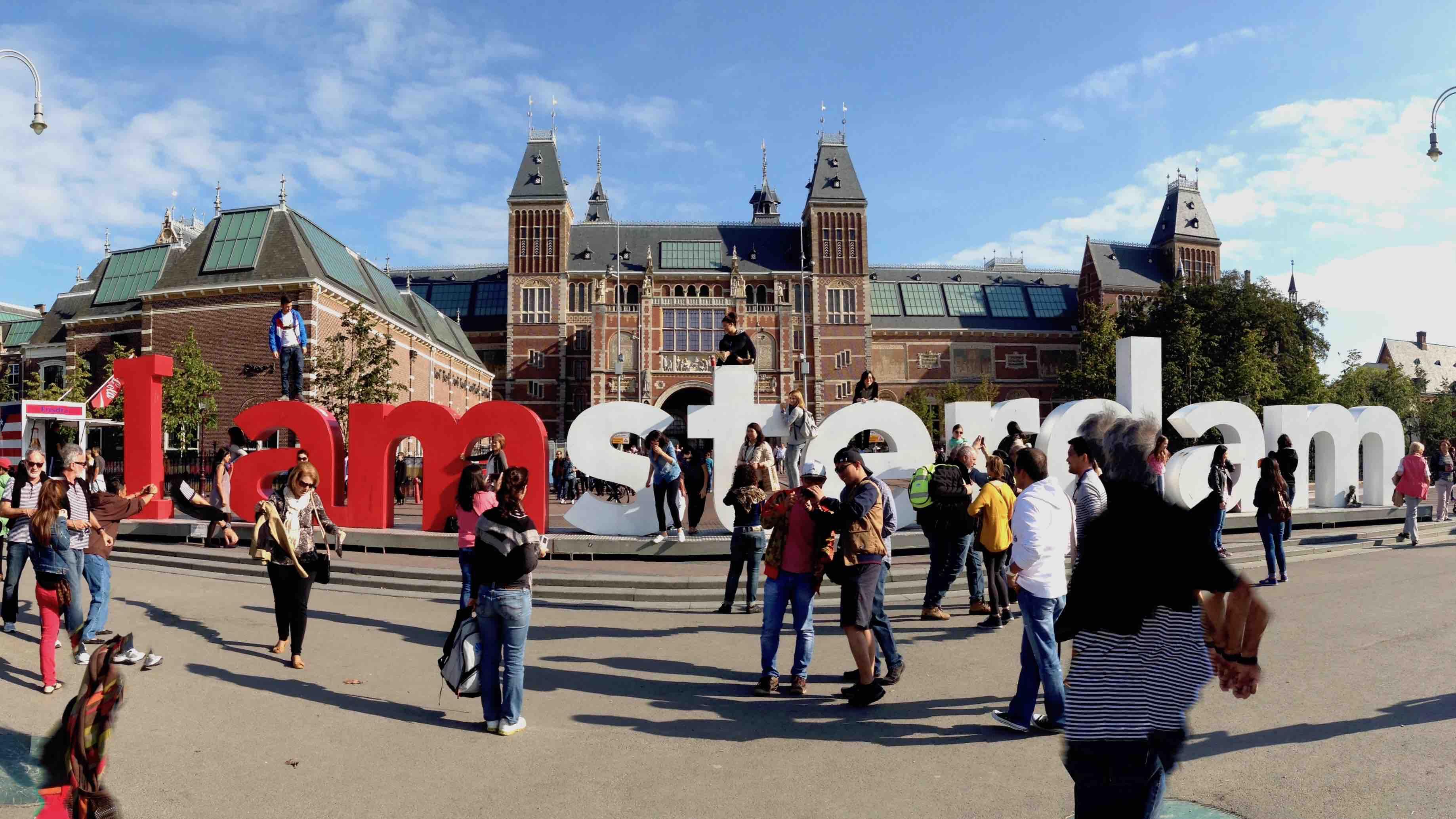 I Amsterdam ja turistit
