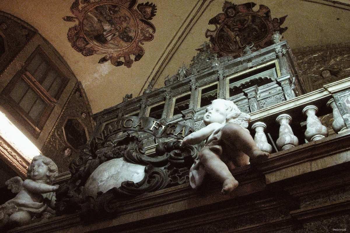 St. Francis Xavierin hauta-arkku Basilica of Bom Jesus -kirkossa