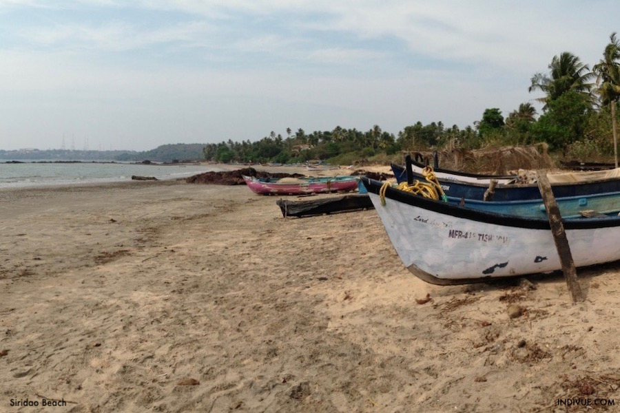 Siridao Beach, Goa, India
