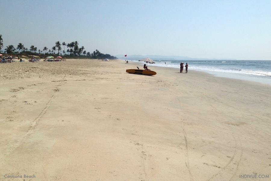 Carmona Beach, Goa Intia