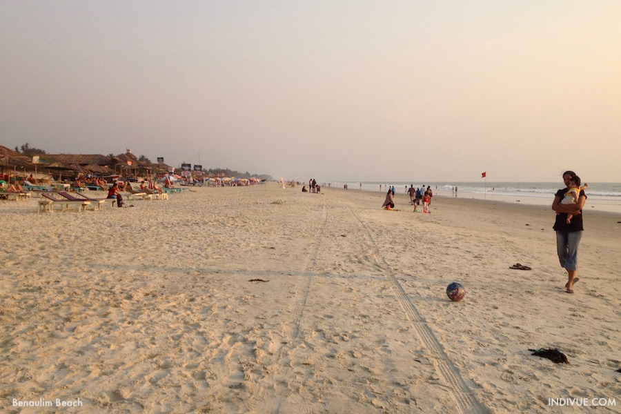 Benaulim Beach, Goa, India