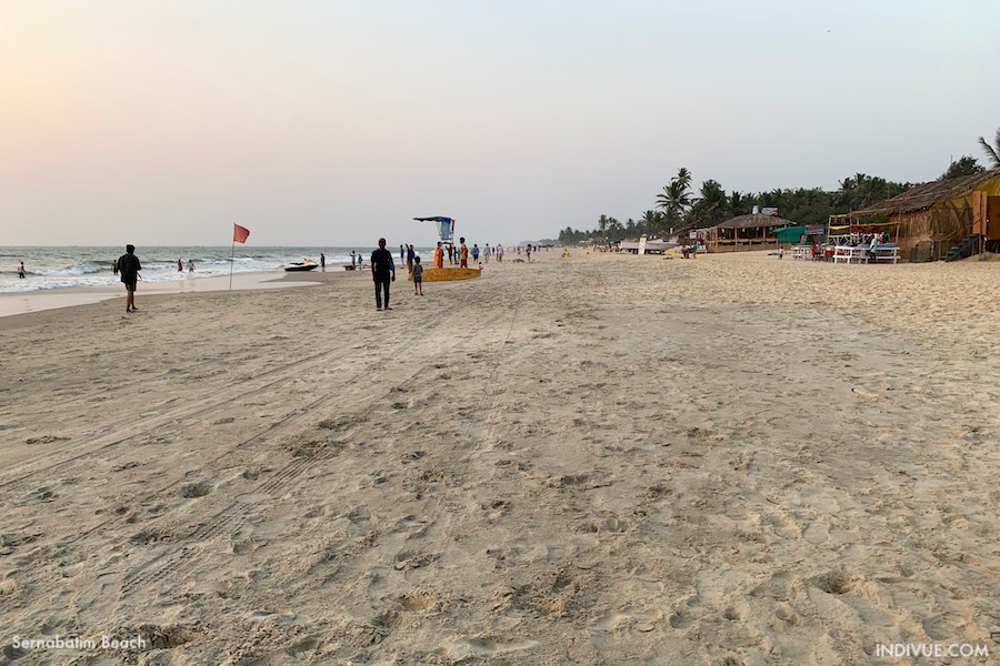 Sernabatim Beach, Goa, India