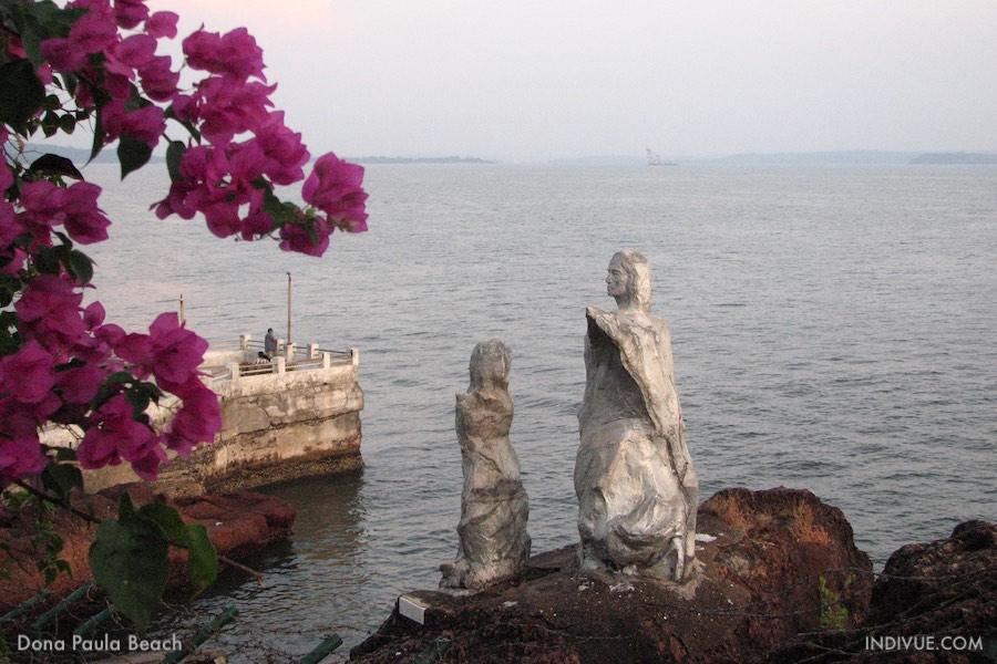Dona Paula Beach, Goa, India