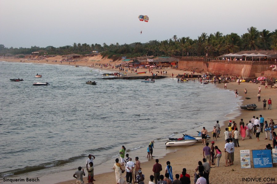 Sinquerim Beach, Goa, India