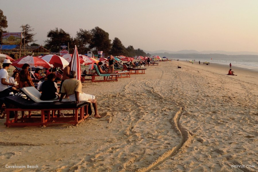 Cavelossim Beach, Goa, Intia