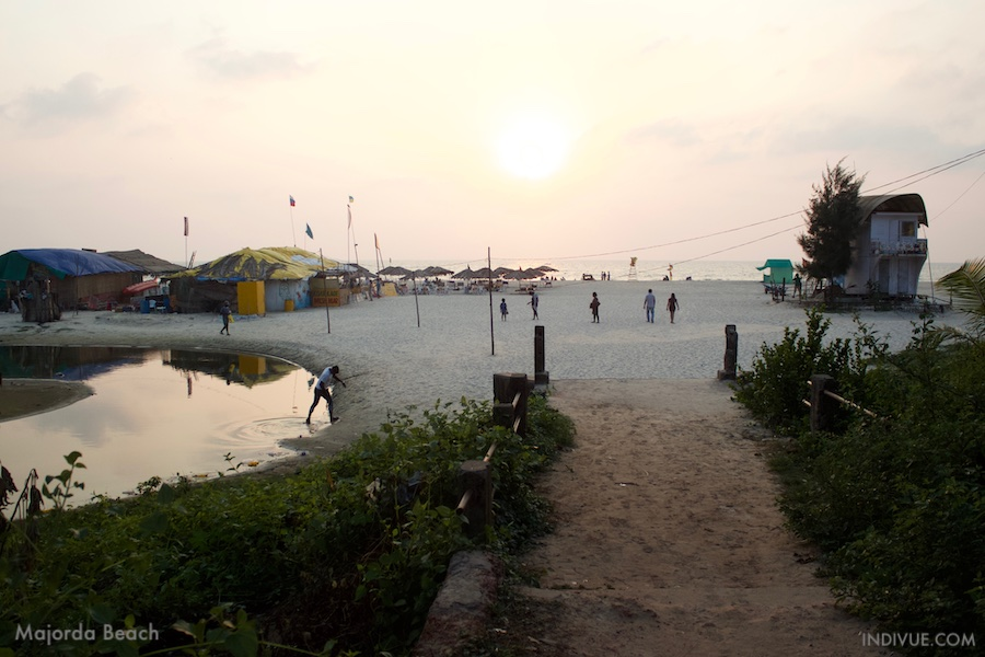 Majorda Beach, Goa, India