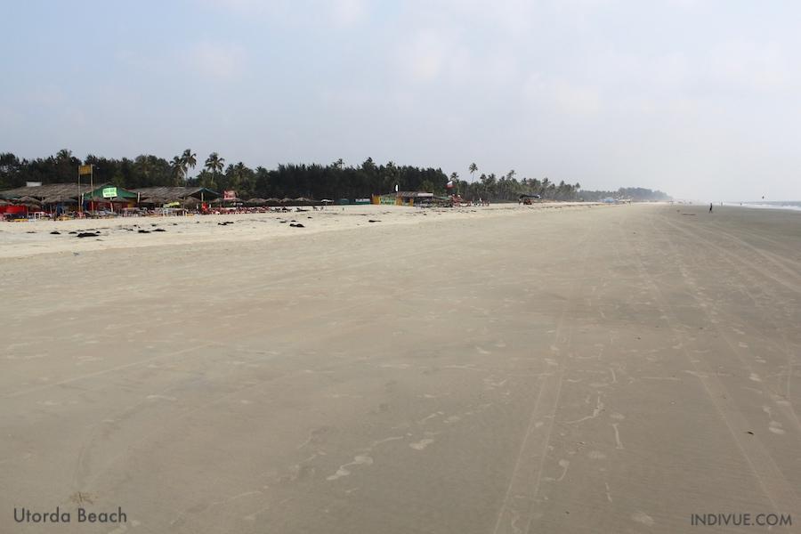 Utorda Beach, Goa, India