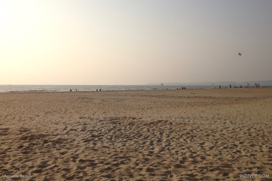 Arossim Beach, Goa, Intia