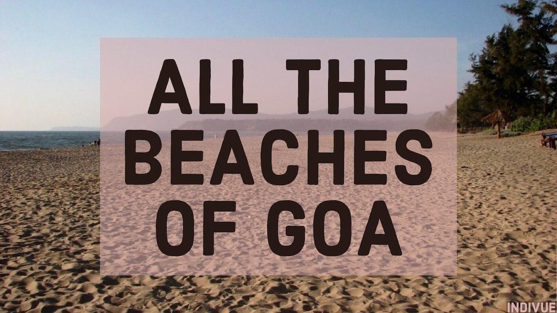 Kaikki Goan rannat ja uimaranta Goassa