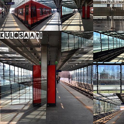 Kulosaaren metroasema -kollaasi