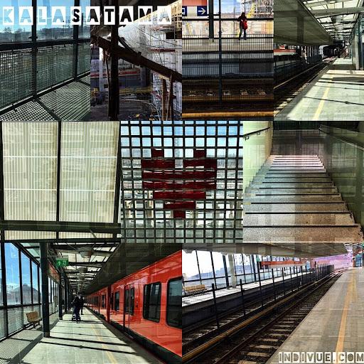 Kalasataman metroasema -kollaasi