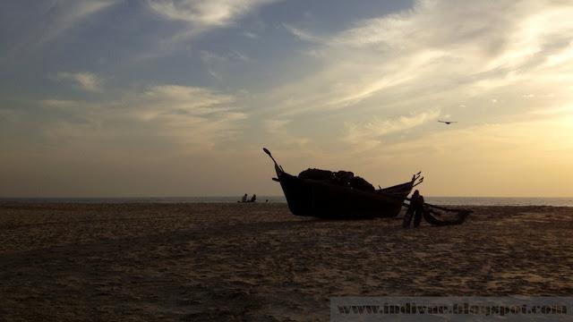 Intialainen venelaituri