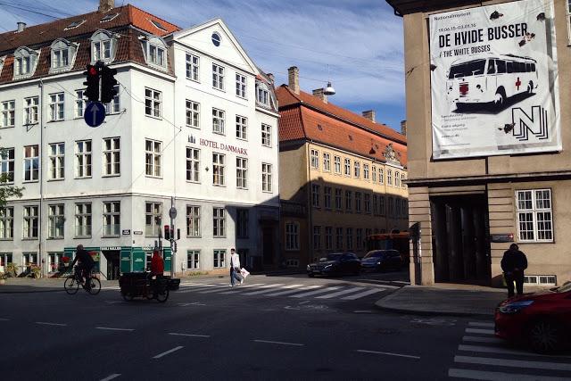 Hotel Danmark ja Kööpenhaminan arkkitehtuuria