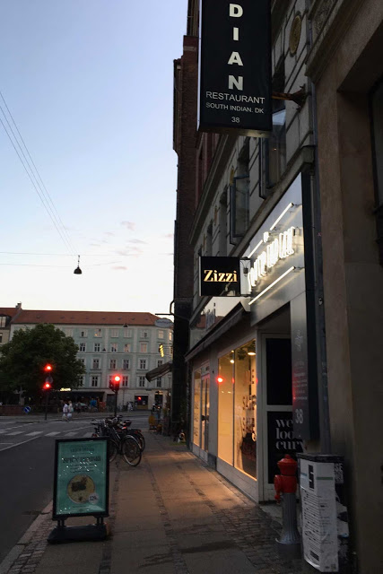 Katunäkymä Kööpenhaminassa