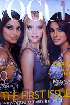Intialainen muoti ja ensimmäinen intialainen Vogue