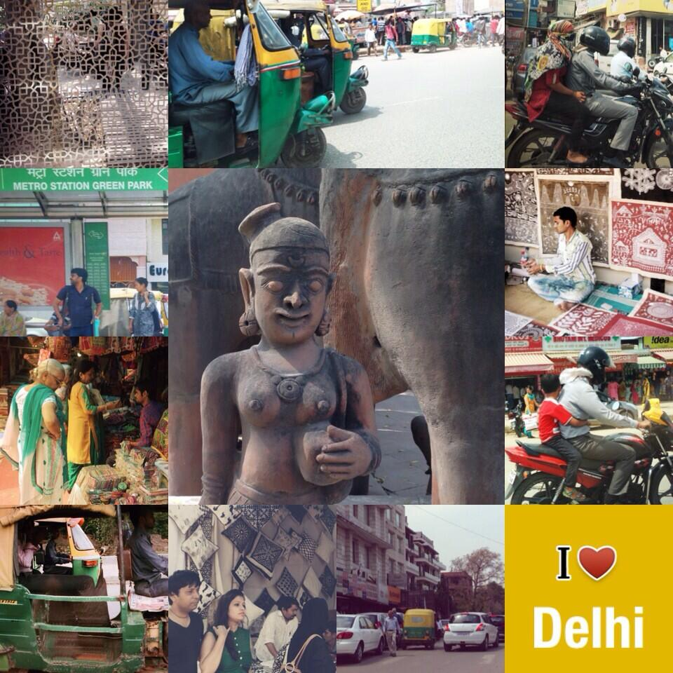 Indivue tweettaa Delhistä