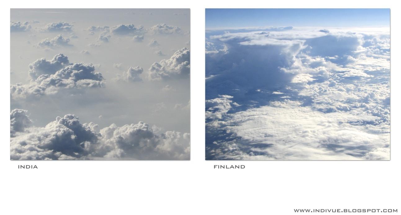 Pilvien yläpuolella, Suomessa ja Intiassa