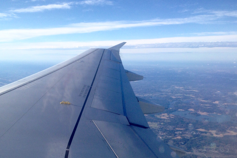 Lentäen Kööpenhaminaan