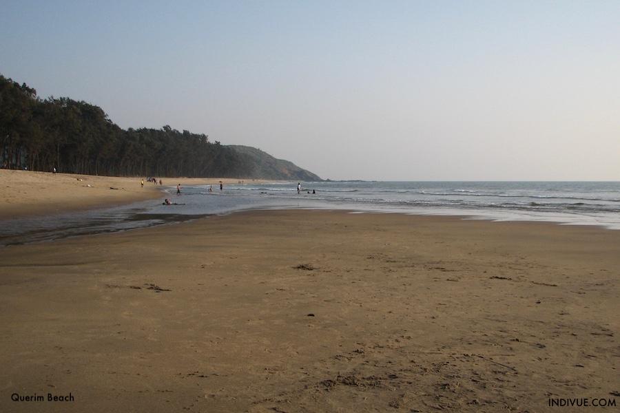 Querim Beach, Goan pohjoisin uimaranta