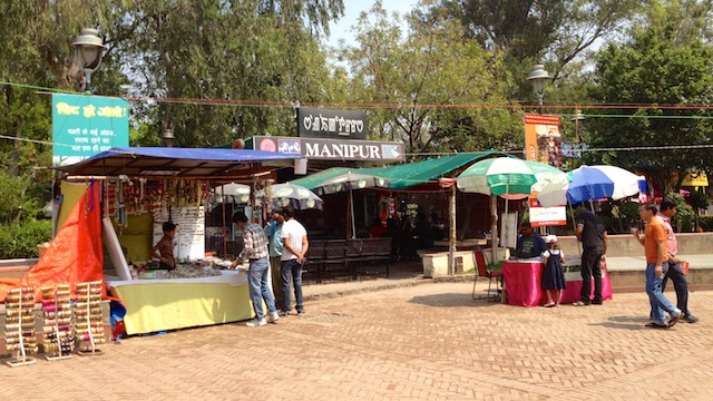 Dilli Haat - Delhin sydämessä, In the heart of Delhi