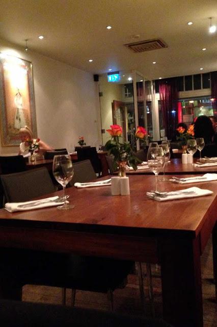 Intialainen ravintola Amsterdamissa