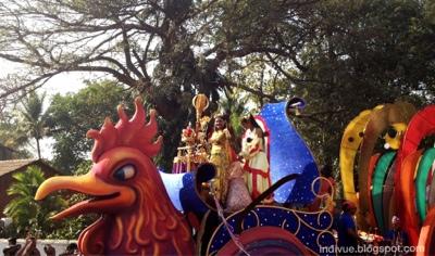 Karnevaalikulkuetta Goassa vuonna 2013