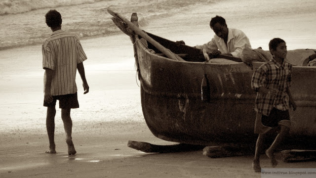 Goalaisia kalastajia