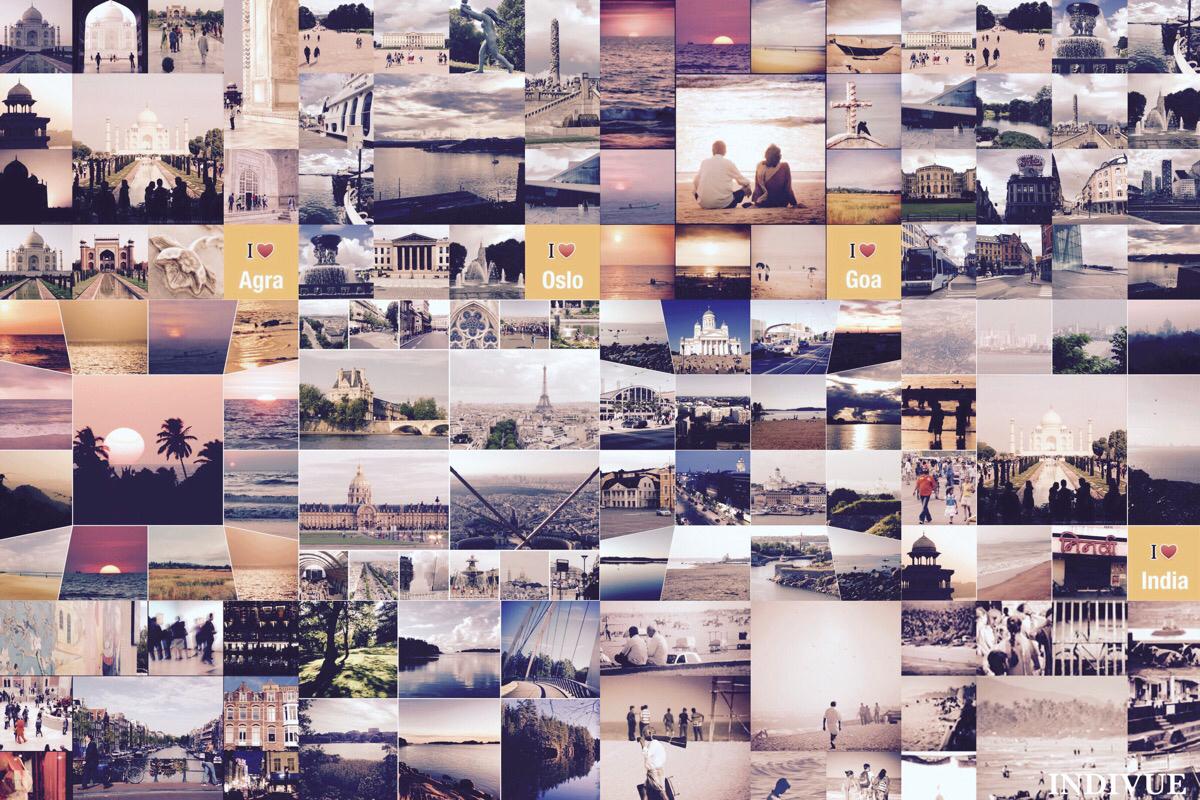 Matkoilla! Blogiterveisin ja valokuvin, Indivue; www.indivue.blogspot.com