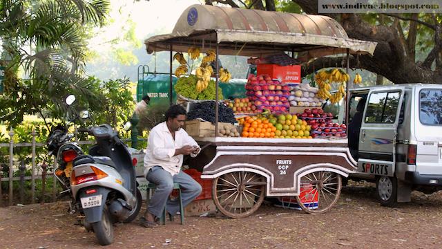 Katuruokaa Intiassa