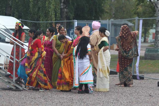 Etnistä muotia eri Intian osavaltioista