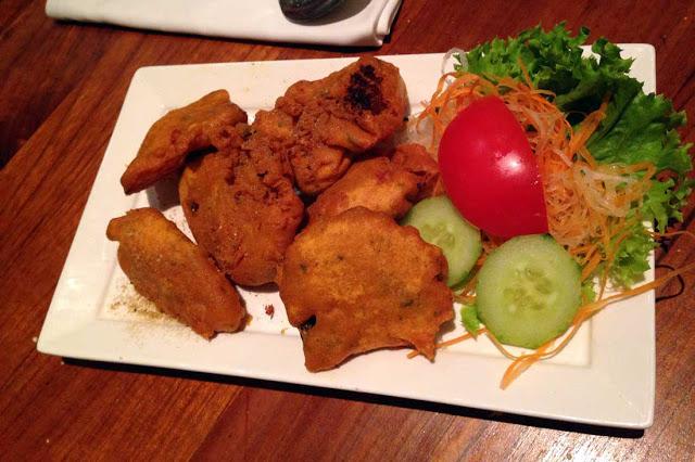 Kasvispakora intialainen ravintola Amsterdam