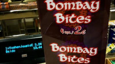 Bombay Bites Hesburgerissa Helsingissä
