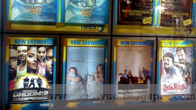 Dhoom 2 elokuvateatterissa Goan Panjimissa