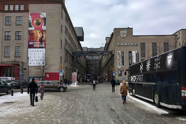 Kaapelitehdas Helsingissä vuonna 2018