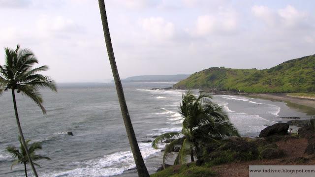 Vagatorin ranta, Goa, Intia