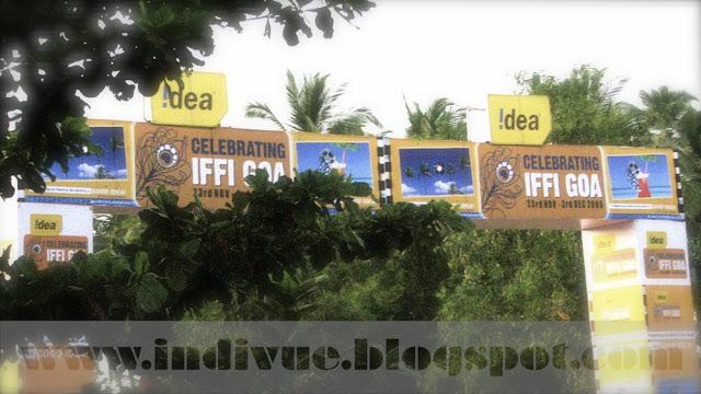 Sisäänkäynti Intian kansainvälisille elokuvafestivaaleille