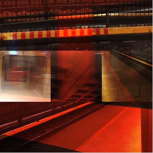 Itäkeskuksen metrotunnelin inspiroimaa