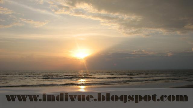 Auringonlasku Intiassa