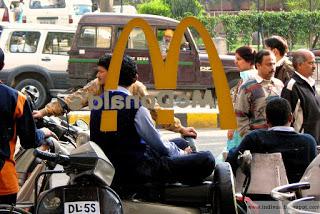 Mc Donald's Intian Delhissä