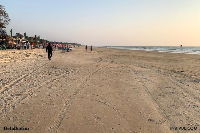 Betalbatim Beach Etelä-Goassa vuonna 2019