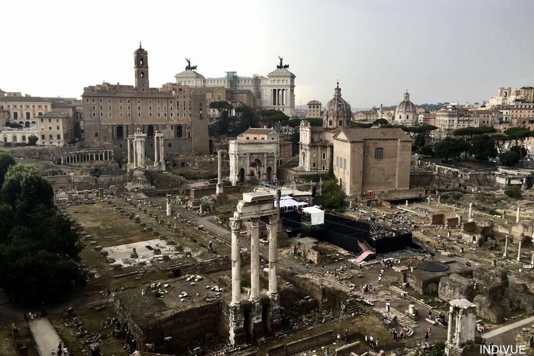 Valokuvanäyttely Roomasta